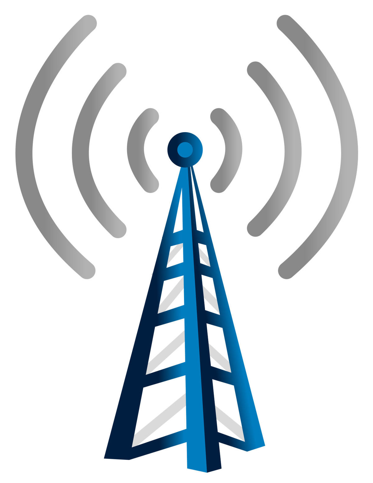 Cell tower graphic