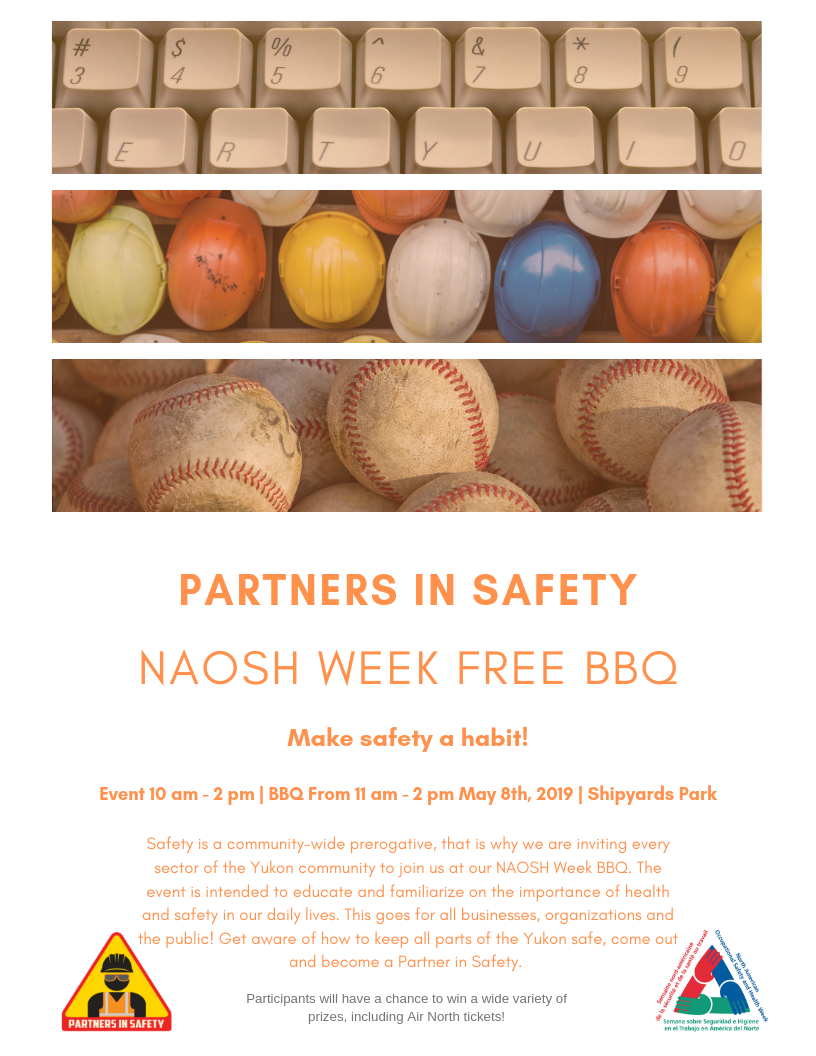Safety BBQ Poster