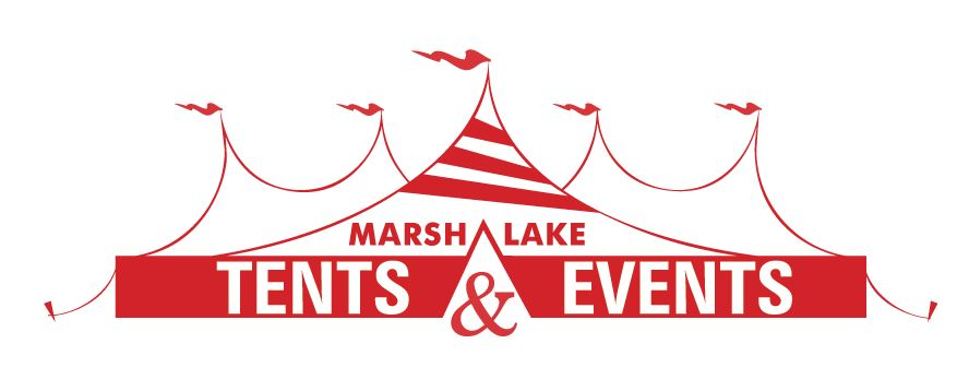 Marsh Lake Tents Events Logo